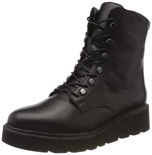 Remonte Damen R8076 Combat Boots, Schwarz (Schwarz/Schwarz 01), 40 EU