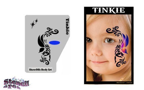 face-painting-stencil-profile-tinkie-by-showoffs-body-art
