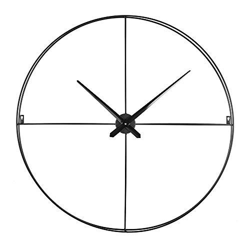 Emotion 107115 Horloge Métal, Noir, 80 CM