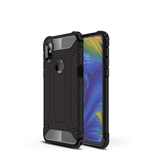Botongda Funda Xiaomi meu Mix 3 5G,Carcasa Resistente a los Golpes y a los arañazos con Tapa Posterior con una combinación de PC Resistente y TPU Suave para Xiaomi Mi Mix 3 5G(negre)