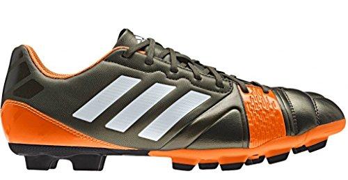 Adidas Nitrocharge 3.0 TRX FG - Scarpe da calcio da uomo Arancione-Grigio