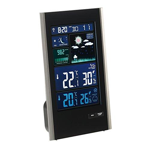Clip Sonic Technology SL250 Station météo barométrique Noir