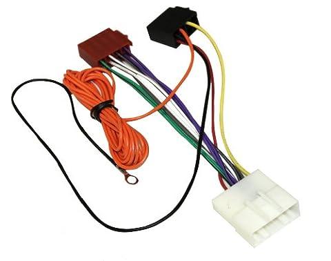 Aerzetix - AK8 ISO-Konverter - Adapter - Kabel Radioadapter Radio Kabel Stecker ISO-Kabel Verbindung - Nissan Radio Cablaggio