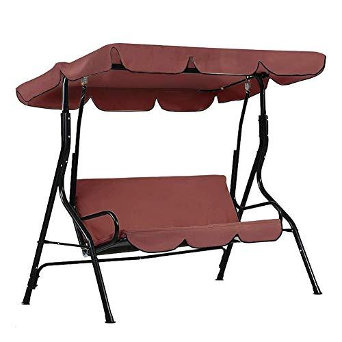 mbition Outdoor Swing Canopy Und Swing Sitzbezug, Swing Glider Leisure Chair Staubschutz, UV-Schutz Sonnenschutz Outdoor Staubschutz -