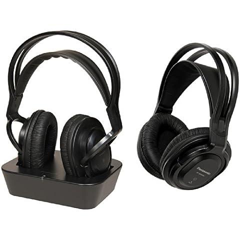 Panasonic RP-WF830WE-K - Auriculares de diadema cerrados inalámbricos, negro