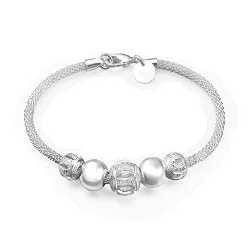 nd, modischer Perlen-Charmanhänger, für Partys-Outfits, für Frauen und Mädchen, ideal als elegantes Geschenk (Mädchen Xmas Outfit)