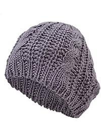 TOOGOO(R) Cappello intrecciato Uncinetto Maglieria caldo delle lane di  inverno del Sci per 8d1f8713ed82
