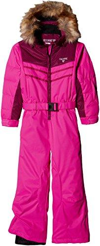 Degré 7 Kid felibelle cbnff Mädchen Skianzug Ultra Pink FR: 8Jahre (Größe Hersteller: 8)