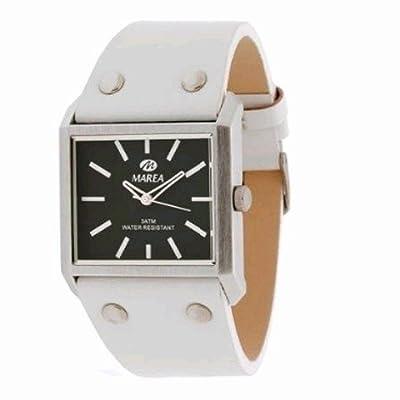Reloj Marea Unisex B47014/2 Correa De Piel Blanca