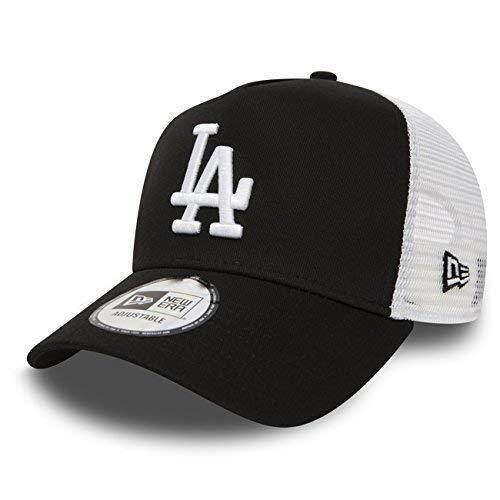 NEW ERA TRUCKER maglia cappello in bundle con UD Bandana NEW YORK YANKEES LOS ANGELES DODGERS - LA Black/Bianco, OSFA...