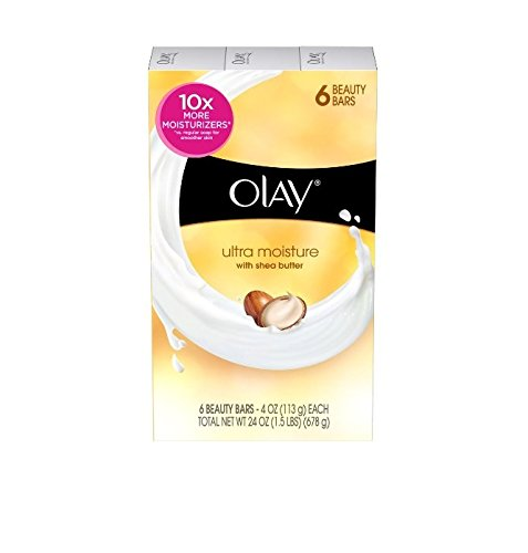 Olay Ultra Moisture Beauty Bars with Shea Butter – 6 CT