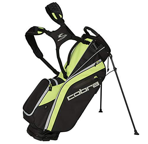 Cobra Ultralight Stand Bag/Golfbag Schwarz/Gelb Puma Golftasche 909263, Farbe:schwarz/gelb - Bag Cobra Stand