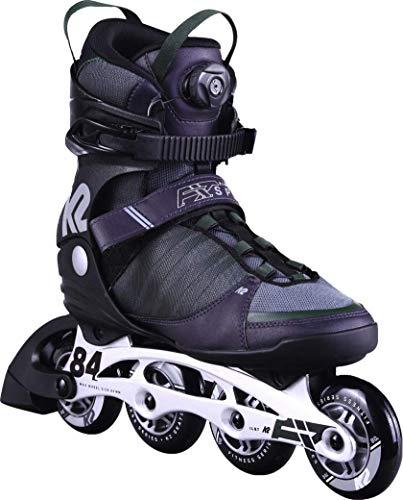 K2 Herren F.I.T. 84 Speed Boa Skateboardschuhe, Grau (Gray/Green 001), 43 1/3 EU
