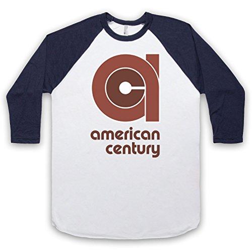The Guns Of Brixton Vinyl American Century Record Label 3/4 Manches Retro T-Shirt de Base-Ball