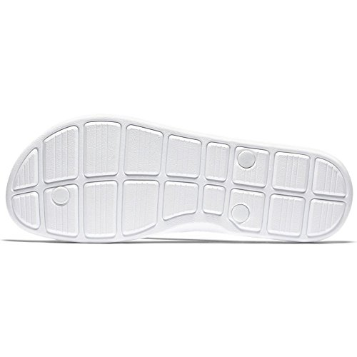 Nike Solarsoft Thong 2 Print, Tongs Homme Blanc Cassé - Blanco (White / Black)