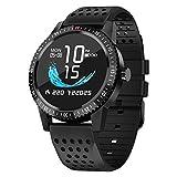 Pulsera deportiva inteligente, pantalla táctil en color Hd Bluetooth Fitness Reloj inteligente,...