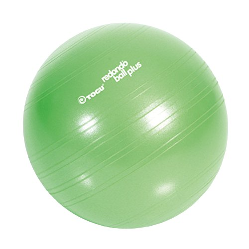 TOGU Gymnastikball, Pilates Ball, Trainingsball, Übungsball TOGU Redondo Ball Plus (Das Original), grün, 38, 491400