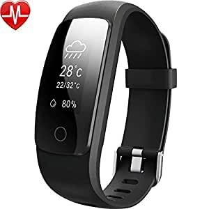 Fitness Tracker, Willful Orologio Bracciale Fitness Cardiofrequenzimetro da Polso Impermeabile IP67 Bluetooth Smartband Cardio Activity Tracker HR Pedometro per Uomo Donna Nuoto per Android iOS Braccialetto Fitness Smart Watch