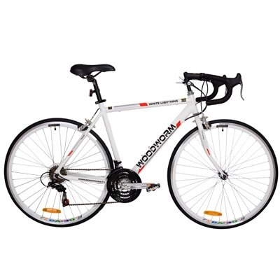 Woodworm Lightning Road / Racing Bike - White