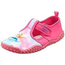 Playshoes Unisex Kids' Uv-Schutz Badeschuhe Meerjungfrau Water Shoes, Pink (Pink 18), 7.5 UK Child