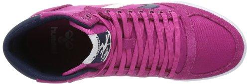 hummel HUMMEL SLIMMER STADIL HIGH, Sneaker donna rosa (Pink (RASPBERRY/BLACK))