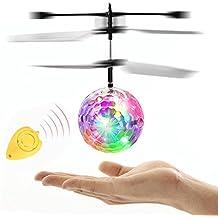 FEITONG Fliegen RC Elektrische Kugel LED blinkt Licht Flugzeug Hubschrauber Induktion Spielzeug