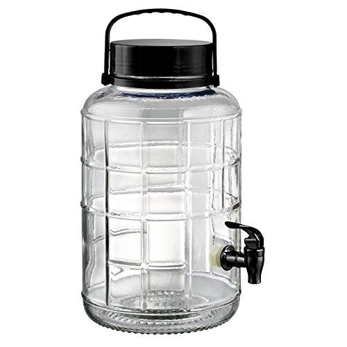 Artland Tailgate Beverage Dispenser, 2 gallon, Black by ARTLAND -