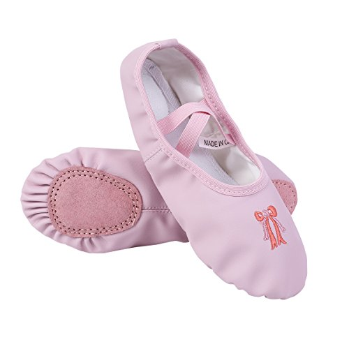 703b620c910 CHICTRY Zapatillas de Ballet Danza para Niña Transpirable Zapatos Clásico  Zapatillas de.