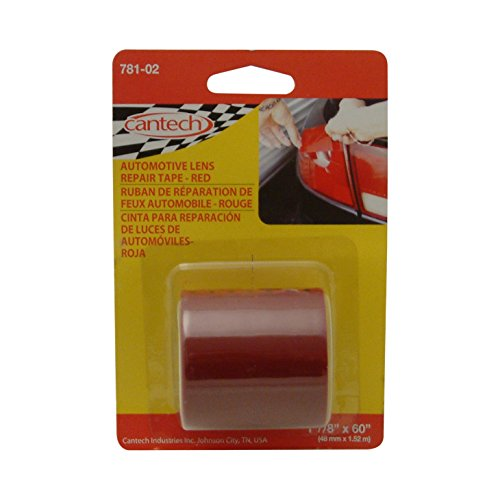 cantech 781Automotive Objektiv Tape: 2in. x 115in. (rot)
