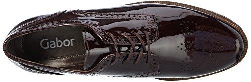 Gabor Fashion, Derby Donna Rosso (Merlot Cognac)
