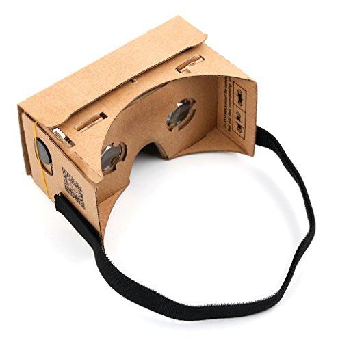 DURAGADGET Virtuelle Google 3D-Brille für LG Smartphones – geeignet für Cubot Max | LG Zero | X...