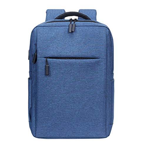YDYL-LI Laptop-Tasche Große Kapazität Gewichtsverlust Verschleißfest Wasserdicht Und Stoßfest Unisex Canvas Tasche Schwarz,Blue (12 Flache Sub)