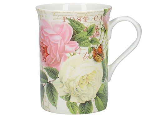 Creative Tops Rose Garden Tasse aus edlem Porzellan, in Geschenkbox, 235 ml (8 fl oz) Rose Garden Bone China