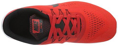 Nike Free Run, Chaussures de Running Compétition Mixte Enfant Rouge (University Red/Black/White)
