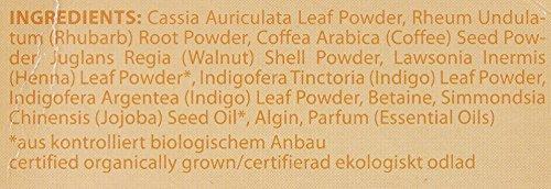 LOGONA Naturkosmetik Coloration Pflanzenhaarfarbe, Pulver - 020 Sahara - Rotblond, Natürliche & pflegende Haarfärbung (100g) - 2
