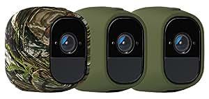 Netgear VMA4200-10000S Kit 3 Cover, Camouflage/Verde, 3 fundas multicolor, Set di 3 Pezzi