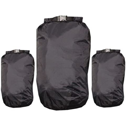 EXPED WATERPROOF BERGEN POUCH LINER PAIR 13L (BLACK) by Exped - Bergen Liner