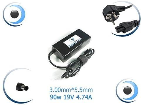 Adaptateur Alimentation Chargeur pour ordinateur portable SAMSUNG NP300E7A-S03FR - Visiodirect -