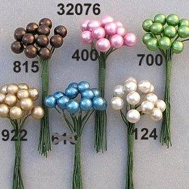 Escofina Pearl rosa ramo de la novedad decoración, champán, 8mm