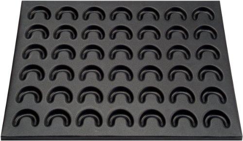Zenker 3485 Backblech für Vanillekipferl und Käsekipferl, 42 x 32 cm