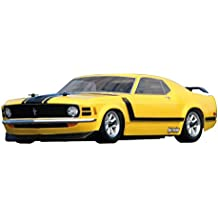 HPI Racing 17546 parte de juguete - Radio-Controlled (RC) model parts (1966 FORD MUSTANG GT COUPE BODY... OPT RTR SPRINT 2 SPORT WITH NISSAN GT-R OPT, Amarillo)