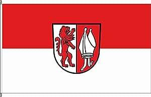 Anwesenheitsbanner Heuchlingen - 40 x 250cm - Flagge und Banner