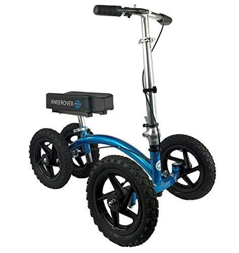 KneeRover Quad All-Terrain Knie Wanderer in Metallic-Blau