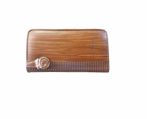 Heena Fashion Women's / Girls Beautiful Durable Clutch Handbag (Brown) Material: Synthetic Leather H-15  available at amazon for Rs.249