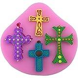 Mini Kreuz Jesus Silikonform