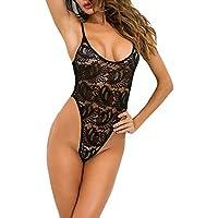 SamMoSon Bikini Bodies Mujer Lenceria Camisones Encaje Lencería y Ropa Dormir Vestido Interior Lencería Sexy De