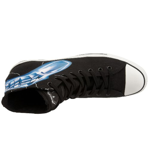 Converse - Casual Unisex adulti Nero (Black/Lightning)