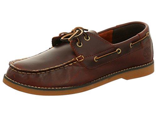 Timberland Seabury 2 I Boat Navy Youths Shoes Marron foncé