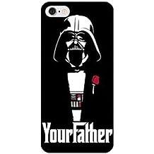 iPhone 5c Star Wars Carcasa de Telefono / Cubierta para Apple iPhone 5C / Protector de Pantalla y Paño / iCHOOSE / Your Father