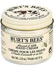 Burt's Bees 99.9% Natural Moisturising Almond and Milk Hand Cream Jar, 57 g